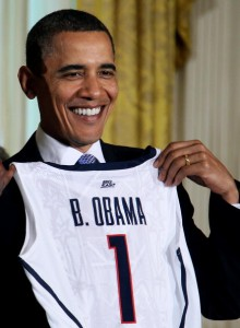 Obama Welcomes Womens' NCAA Champions To White House