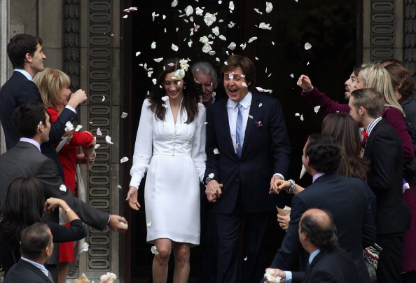 Sir Paul McCartney and Nancy Shevell - Wedding