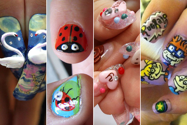 15 Ridiculously Cool Nail Art Designs